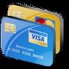 Банковской картой при получении